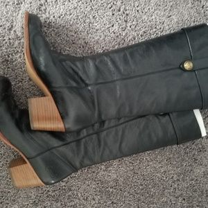 Coach Fayth buttery leather boots-size 9